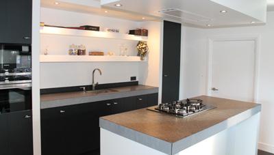 Gerard keuken meubel design op maat gemaakte meubels stijlvolle wandkasten of handgemaakte - Foto grijze keuken en hout ...