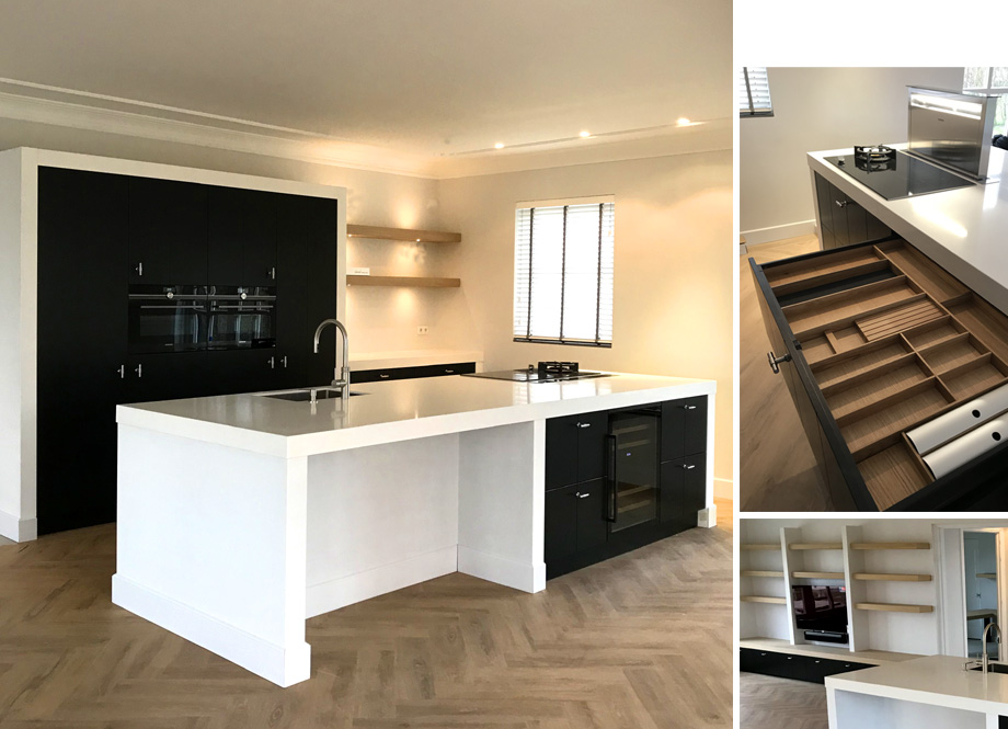Zwart Keuken Fornuis : Gerard keuken meubel design op maat gemaakte meubels
