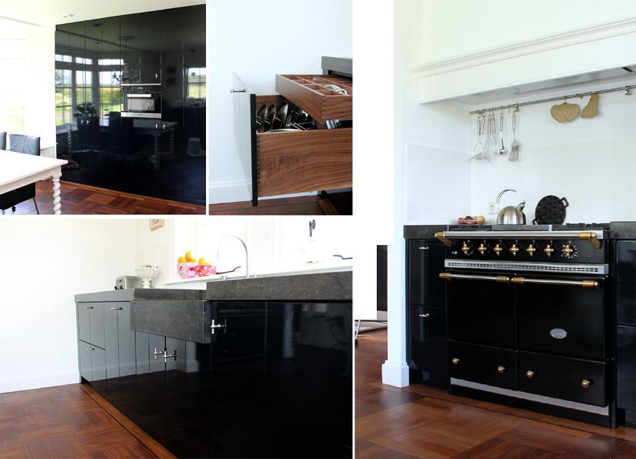 Strakke Zwarte Keuken : Gerard keuken meubel design op maat gemaakte meubels