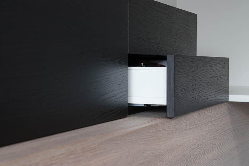Vaatwasser Voor Zwevende Keuken : Woning te Hendrik Ido Ambacht voorzien van op maat gemaakte meubels.