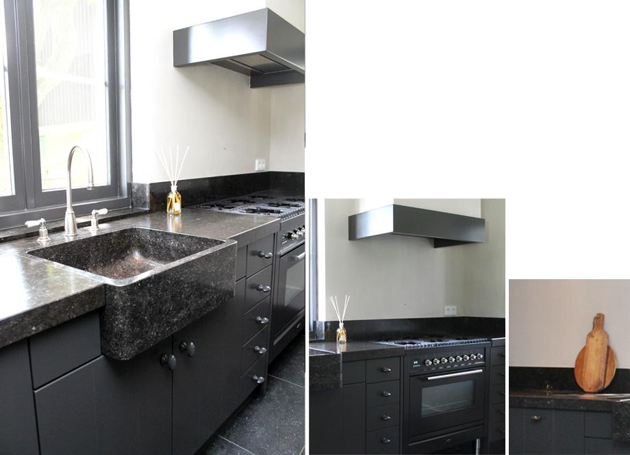 Strakke Zwarte Keuken : Gerard keuken & meubel design op maat gemaakte meubels stijlvolle