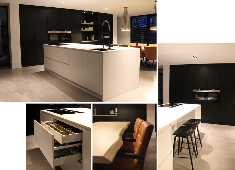 Eiland Keuken Zwart : Gerard keuken meubel design op maat gemaakte meubels